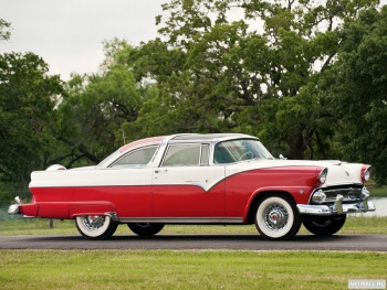 Ford Fairlane Crown Victoria Skyliner '1955,
