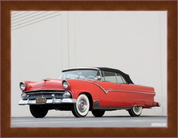 Магнитная картина Ford Fairlane Sunliner Convertible '1955,
