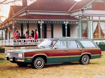 Ford Fairmont Squire '1978-80,