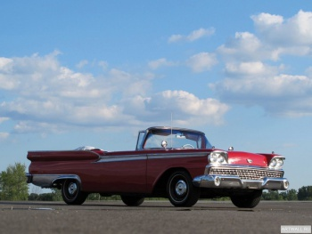 Ford Galaxie Sunliner Convertible '1959,