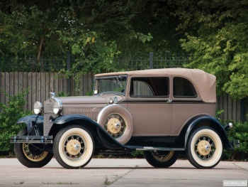 Ford Model A 4-door Phaeton '1927-31,