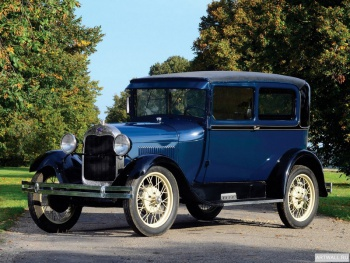 Ford Model A Victoria (190А) '1930-31,