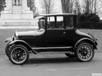 Ford Model T Coupe '1925-26,