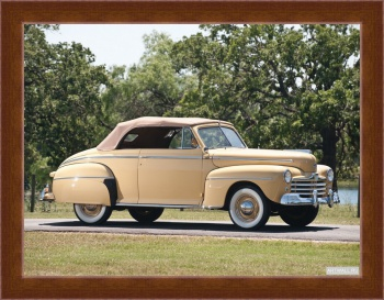Магнитная картина Ford Super Deluxe Convertible Coupe '1948,