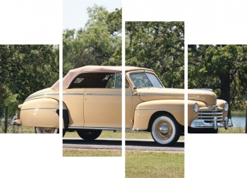 Модульное панно Ford Super Deluxe Convertible Coupe '1948,