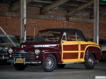 Ford Super Deluxe Sportsman Convertible '1947-48,
