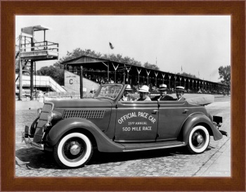 Магнитная картина Ford V8 Convertible Sedan Indy 500 Pace Car (48-740) '1935,