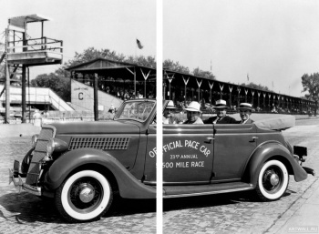 Модульное панно Ford V8 Convertible Sedan Indy 500 Pace Car (48-740) '1935,