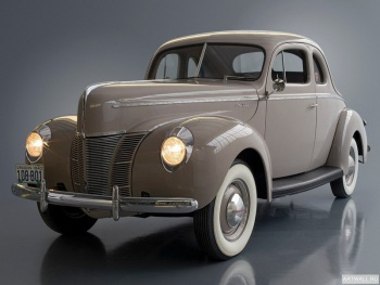 Ford V8 Deluxe 5-window Coupe (01A-77B) '1940,
