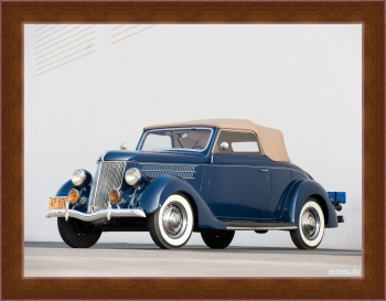 Магнитная картина Ford V8 Deluxe Cabriolet (68-760) '1936,