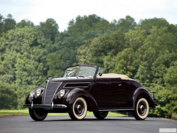 Ford V8 Deluxe Convertible (78-760) '1937,