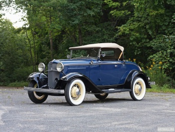 Ford V8 Deluxe Roadster (18-40) '1932,
