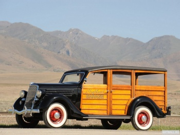 Ford V8 Deluxe Station Wagon (48-790) '1935,