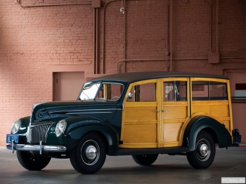 Ford V8 Deluxe Station Wagon (91A-79) '1939,