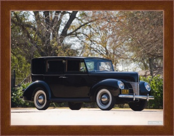 Магнитная картина Ford V8 Panel Brougham by Rollson (01A) '1940,
