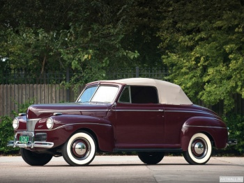 Ford V8 Super Deluxe Convertible Coupe (11A-76) '1941,