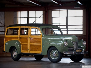Ford V8 Super Deluxe Station Wagon (11A-79B) '1941,