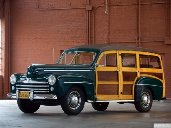 Ford V8 Super Deluxe Station Wagon (79A-79B) '1947,