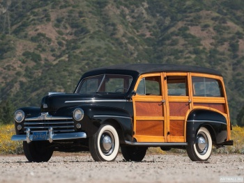 Ford V8 Super Deluxe Station Wagon (89A-79B) '1948,