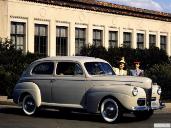 Ford V8 Super Deluxe Tudor Sedan (11A-70B) '1941,
