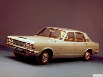 Ford Zodiac Executive Saloon (3012E) '1966-72,