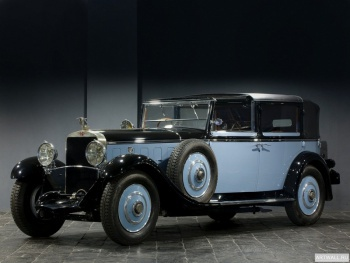 Интерьерные часы Hispano-Suiza H6 Coupe-Chauffeur Landaulet by Chapron '1922,