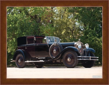 Магнитная картина Hispano-Suiza H6B Coupe DeVille by Kellner '1924,