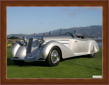 Магнитная картина Horch 853 Special Roadster by Erdmann & Rossi '1938,
