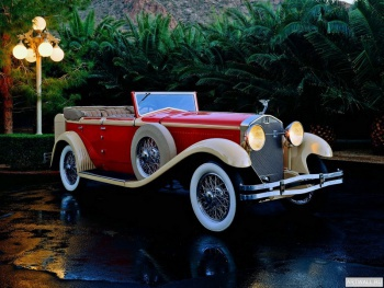 Isotta-Fraschini Tipo 8A Convertible Sedan by Castagna '1930,