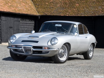 Jaguar Coombs E-Type GT by Frua (Series I) '1965,