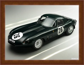 Магнитная картина Jaguar E-Type Lightweight Coupe (Series I) '1963,