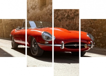 Модульное панно Jaguar E-Type Roadster (Series I) '1961-67 2,