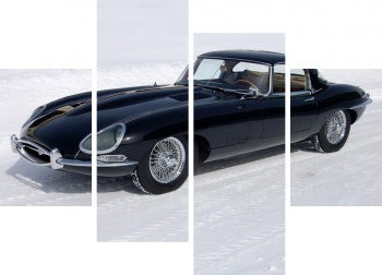 Модульное панно Jaguar E-Type Roadster (Series I) '1961-67,