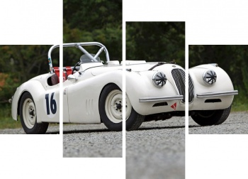 Модульное панно Jaguar XK120 Competition Roadster '1950,