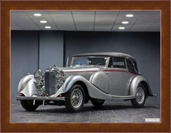 Магнитная картина Lagonda LG6 Rapide Drop Head Coupe '1938,