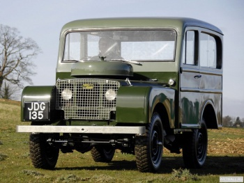 Land Rover Series I 80 Tickford Station Wagon '1948-58,