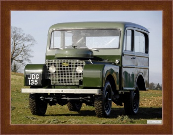 Магнитная картина Land Rover Series I 80 Tickford Station Wagon '1948-58,