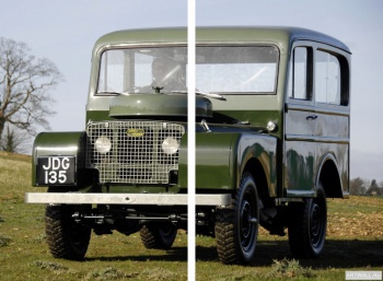 Модульное панно Land Rover Series I 80 Tickford Station Wagon '1948-58,
