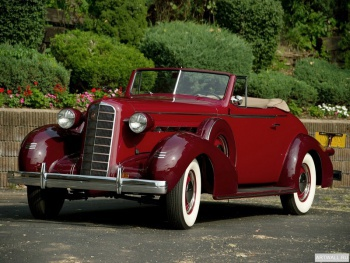 LaSalle Convertible Coupe (36-5067) '1936,