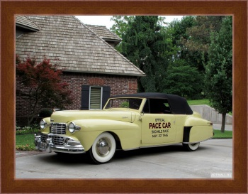 Магнитная картина Lincoln Continental Indy Pace Car '1946,