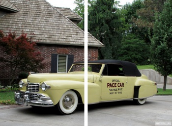Модульное панно Lincoln Continental Indy Pace Car '1946,