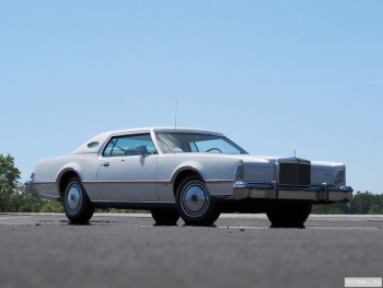 Lincoln Continental Mark IV Lipstick & White Luxury Group '1975-76,