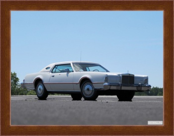 Магнитная картина Lincoln Continental Mark IV Lipstick & White Luxury Group '1975-76,