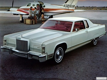 Lincoln Continental Town Coupe '1977,