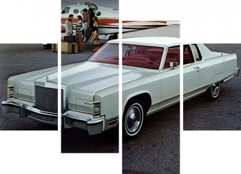 Модульное панно Lincoln Continental Town Coupe '1977,