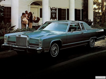 Lincoln Continental Town Coupe '1979,