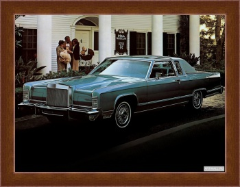 Магнитная картина Lincoln Continental Town Coupe '1979,