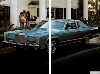 Модульное панно Lincoln Continental Town Coupe '1979,