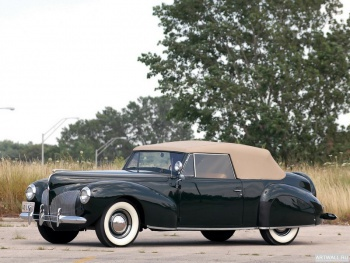 Lincoln Zephyr Continental Cabriolet '1939-40,