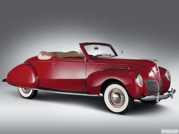 Lincoln Zephyr Convertible Coupe '1938,